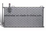Placa soldada laser ahorro de energía del hoyuelo de la placa del cambiador