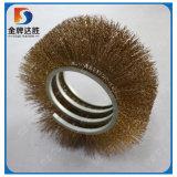 Industrielle à l'extérieur de la bobine spirale rotative cylindrique brosse en laiton
