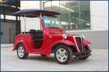 Automobile elettrica di Sightseeiing del carrello di golf del combustibile delle 6 sedi