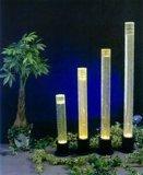 円形の柱の定形ランプ