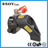 El tornillo de la llave inglesa de torque del tornillo filetea la llave inglesa de torque hidráulica del mecanismo impulsor cuadrado