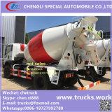 4cubicメートルの具体的なプラント使用の具体的なトラックのミキサー