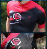 ジャージーの製造業者の卸売の乾燥した適当な循環の衣服のBreathaleの循環の自転車ジャージー