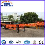 Behälter-halb Schlussteil der China-40FT Tri Skeleton Wellen-45t für Förderung