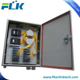 Casella di distribuzione ottica esterna della fibra delle 72 porte per FTTX/FTTH