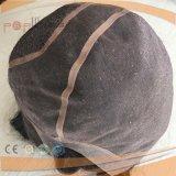 Peluca delantera de seda del cordón lleno brasileño del pelo (PPG-l-0297)