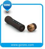 4 en 1 mini antorcha de la linterna del altavoz LED de Bluetooth con la batería de la potencia 2000mAh