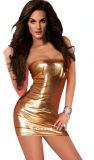 새로운 가죽 섹시한 란제리 최신 유액 섹시한 차림새 감싸인 색정적인 들여다 보는 구멍 PVC는 위로 성 복장 Lenceria를 여자를 위해 짧게 옷을 입는다 옷을 입는다