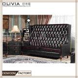 Оптовая торговля Фошань производитель гостиную мебелью PU/PVC диван в разрезе