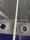 Color gris de alta calidad cortina blackout
