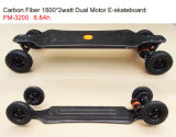 Plastic Carbon Fiber Deck Backfire Dual Motor Electric Skateboard