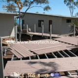Matériau de construction facile bon marché moderne extérieur de l'installation WPC pour le bas-côté