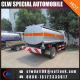 4*2 석유 탱크 트럭, 연료 유조 트럭, 8cbm 판매를 위한 고품질 기름 납품 트럭