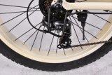 Beach Cruiser bicicleta eléctrica com gordura de Roda do Pneu