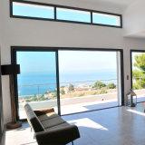 La edificación residencial perfil de aluminio doble acristalamiento de puerta corrediza de vidrio