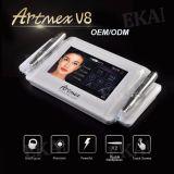 Tela de toque inteligente da potência HD da composição permanente cosmética da máquina do tatuagem de Artmex V8