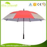 人の中紫外線銀製のコーティングが付いている昇進のギフトのゴルフ傘