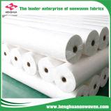 Protección de polipropileno blanco Nonwoven Spunbond tela utilizados para mover una manta