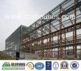 Cloche préfabriquée d'atelier de structure métallique de construction d'encadrement