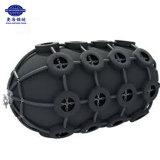 50kpa con el neumático y el encadenamiento que flotan la defensa de goma neumática