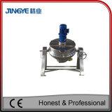 Inclinazione della caldaia rivestita elettrica con il miscelatore