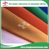 Tela no tejida de TNT PP la mayoría del 100 por ciento popular de tela Hacer girar-Consolidada biodegradable