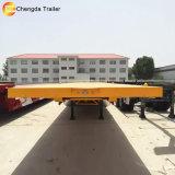 3eixos 40FT 20pés Cama Mesa trailer do recipiente para venda