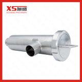 Dn100 AISI304 Aço inoxidável grau alimentício filtro Tipo de ângulo
