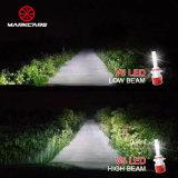 Markcars LED 자동 맨 위 램프 전구 차 헤드라이트
