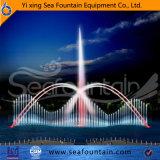 Взаимодействовать мультимедийные музыки фонтан с погружение насоса