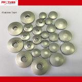 Esvaziar os tubos de embalagens flexíveis no material de alumínio