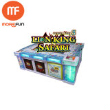 Spiel-Maschine des Fischen-Hunter-Säulengang-Spiel-Löwe-König-Safari Fish für Verkauf