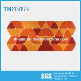Comitato acustico ad alta densità della fibra di poliestere della scheda decorativa di KTV