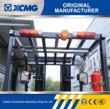 XCMG 3のトン3000kgの4-Wheelマストの側面シフトフォークリフトの価格の安い電気フォークリフト