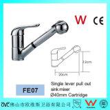 Le chrome de filigrane plaqué retirent le robinet d'eau de pulvérisation (FE07)