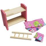 Dollhouse en bois Meubles de salle d'enfants fixé pour les enfants