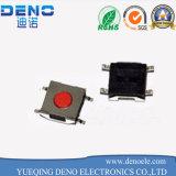 Interruptor micro táctil del tacto de la C.C. 12V 0.5A 6X4.3 SMD
