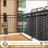 Конструкция Railing террасы/Prefab Baluster поручня балкона металла/гальванизированный Railing палубы