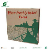 Caixa da caixa de papel do alimento para a pizza