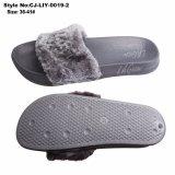 Les femmes Slipper sandale, EVA unique de la fourrure en peluche pantoufles