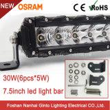 Barra chiara Premium sottile di profilo 30W Osram LED di disegno unico (GT3530-30W)
