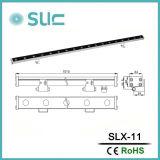 IP65는 방수 처리한다 제광기 (Slx-11)에 있는 18W LED 벽 세탁기 빛을