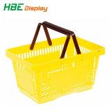 Оптовая торговля продуктовый магазин пластиковые портативного ручного Корзина