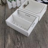Weißbuch-Nachtisch-Plätzchen-Biskuit-Kuchen-verpackenkasten mit Fenster