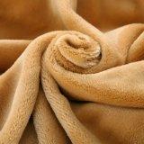 Couverture brouillée réversible de luxe de maneton de Sherpa pour la collection à la maison