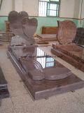 Headstone/lapide/pietra tombale/monumento rossi multicolori del granito per il servizio europeo