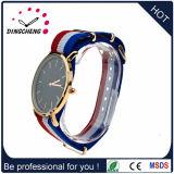 Montre de mode en nylon de bracelet de courroie de montre de type de Dw de caisse d'alliage