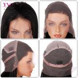 Parrucca piena del merletto dei capelli diritti brasiliani del Virgin dei capelli umani di 100%