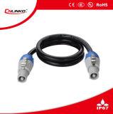 Meilleur prix IP44 3 broches du connecteur Powercon/