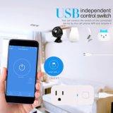 USBポートで構築されるを用いる無線WiFiのスマートなプラグのアウトレット